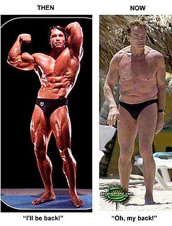 Arnold Schwarzenegger: Then and Now